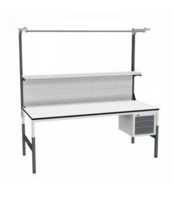 Стол монтажный СР-М-200/90-03 ESD: купить в Москве по цене 25 430 руб | Интернет-магазин «Мебель Металлическая»