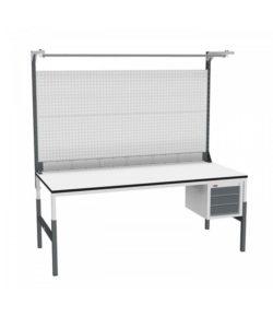 Стол монтажный СР-М-200/90-04 ESD: купить в Москве по цене 29 670 руб | Интернет-магазин «Мебель Металлическая»