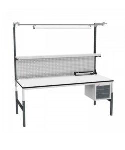 Стол монтажный СР-М-200/90-05 ESD: купить в Москве по цене 39 200 руб | Интернет-магазин «Мебель Металлическая»