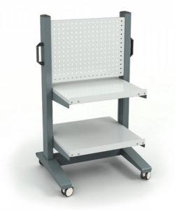 Стойка подкатная СР-021-03 ESD: купить в Москве по цене 26 600 руб | Интернет-магазин «Мебель Металлическая»