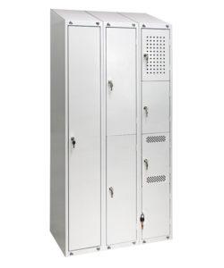 Шкаф универсальный с наклонной крышей: купить в Москве по цене 19 000 руб | Интернет-магазин «Мебель Металлическая»
