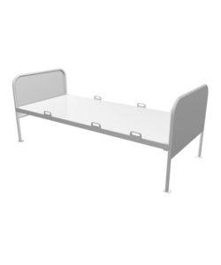 Кровать медицинская КМ-10: купить в Москве по цене 10 185 руб | Интернет-магазин «Мебель Металлическая»