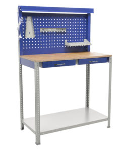 Верстак слесарный GARAGE Set1: купить в Москве по цене 7 750 руб | Интернет-магазин «Мебель Металлическая»