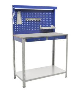 Верстак слесарный GARAGE Set2: купить в Москве по цене 7 750 руб | Интернет-магазин «Мебель Металлическая»