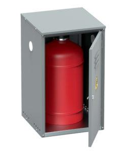 Шкаф для газового баллона ШГР-27-01: купить в Москве по цене 3 400 руб | Интернет-магазин «Мебель Металлическая»
