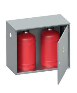 Шкаф для газовых баллонов ШГР-27-02: купить в Москве по цене 4 100 руб | Интернет-магазин «Мебель Металлическая»