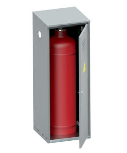 Шкаф для газового баллона ШГР-40-01: купить в Москве по цене 5 500 руб | Интернет-магазин «Мебель Металлическая»