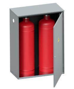 Шкаф для газовых баллонов ШГР-40-02: купить в Москве по цене 7 100 руб | Интернет-магазин «Мебель Металлическая»
