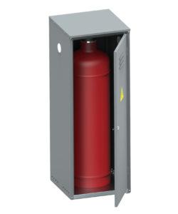 Шкаф для газового баллона ШГР-50-01: купить в Москве по цене 4 200 руб | Интернет-магазин «Мебель Металлическая»
