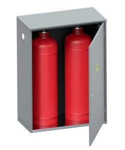 Шкаф для газовых баллонов ШГР-50-02: купить в Москве по цене 5 400 руб | Интернет-магазин «Мебель Металлическая»