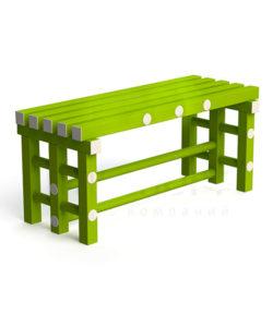 Скамья пластиковая 1 метр: купить в Москве по цене 4 400 руб   Интернет-магазин «Мебель Металлическая»