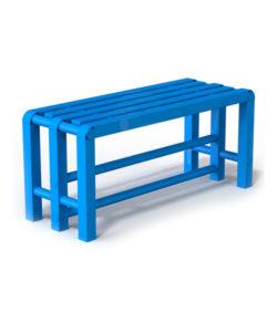 Скамья пластиковая Фит 1: купить в Москве по цене 6 600 руб   Интернет-магазин «Мебель Металлическая»