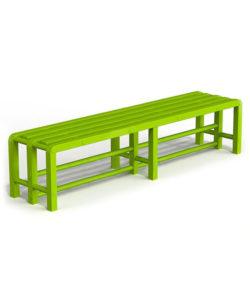 Скамья пластиковая Фит 2: купить в Москве по цене 6 600 руб   Интернет-магазин «Мебель Металлическая»