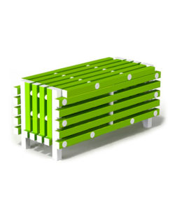 Скамья-ящик пластиковая: купить в Москве по цене 15 000 руб   Интернет-магазин «Мебель Металлическая»