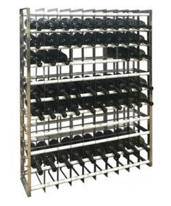 Стеллаж для хранения бутылок: купить в Москве по цене 22 105 руб | Интернет-магазин «Мебель Металлическая»