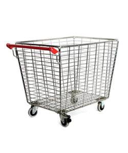 Тележка-корзина грузовая STB300-PR: купить в Москве по цене 10 212 руб | Интернет-магазин «Мебель Металлическая»