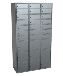 Шкаф абонентский РА.1.30: купить в Москве по цене 42 600 руб | Интернет-магазин «Мебель Металлическая»