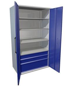 Инструментальный шкаф HARD 2000-004012: купить в Москве по цене 68 500 руб | Интернет-магазин «Мебель Металлическая»