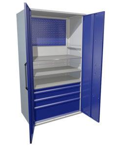 Инструментальный шкаф HARD 2000-033013: купить в Москве по цене 72 800 руб | Интернет-магазин «Мебель Металлическая»