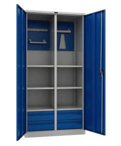 Инструментальный шкаф TC 1995-120604: купить в Москве по цене 52 800 руб | Интернет-магазин «Мебель Металлическая»
