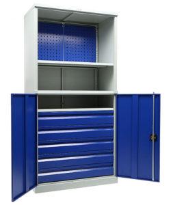 Инструментальный шкаф TC 1995/2-022050: купить в Москве по цене 57 400 руб | Интернет-магазин «Мебель Металлическая»