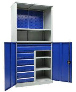 Инструментальный шкаф TC 1995/2-121215: купить в Москве по цене 57 000 руб | Интернет-магазин «Мебель Металлическая»
