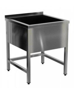 Ванна моечная сварная односекционная (AISI 304): купить в Москве по цене 11 000 руб | Интернет-магазин «Мебель Металлическая»