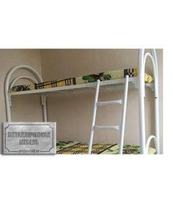 Кровать металлическая двухъярусная КС-2: купить в Москве по цене 8 710 руб | Интернет-магазин «Мебель Металлическая»