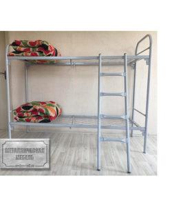 Кровать металлическая двухъярусная СС-4: купить в Москве по цене 6 550 руб | Интернет-магазин «Мебель Металлическая»