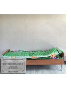 Кровать одноярусная КБ-1: купить в Москве по цене 5 265 руб | Интернет-магазин «Мебель Металлическая»