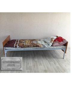 Кровать одноярусная КО-1 (800): купить в Москве по цене 4 250 руб | Интернет-магазин «Мебель Металлическая»