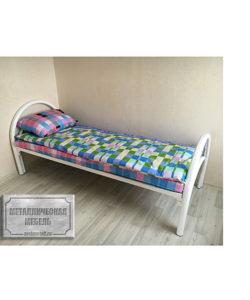 Кровать одноярусная КС-1: купить в Москве по цене 4 835 руб | Интернет-магазин «Мебель Металлическая»