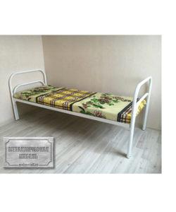 Кровать металлическая одноярусная СБ-1: купить в Москве по цене 4 210 руб | Интернет-магазин «Мебель Металлическая»