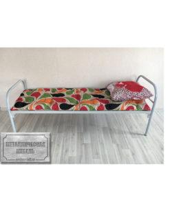 Кровать одноярусная СС-1: купить в Москве по цене 2 860 руб | Интернет-магазин «Мебель Металлическая»