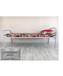 Кровать одноярусная СС-3: купить в Москве по цене 3 700 руб | Интернет-магазин «Мебель Металлическая»
