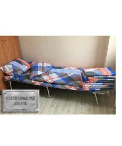 Кровать раскладная РК-2: купить в Москве по цене 2 290 руб | Интернет-магазин «Мебель Металлическая»