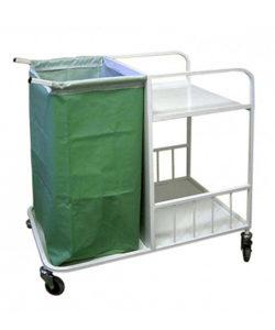Тележка медицинская ТПБ-02 для перевозки белья: купить в Москве по цене 7 900 руб | Интернет-магазин «Мебель Металлическая»