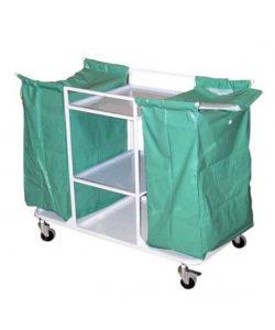 Тележка медицинская ТПБ-03 для перевозки белья: купить в Москве по цене 9 800 руб | Интернет-магазин «Мебель Металлическая»