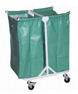 Тележка медицинская ТПБ-04 для сбора грязного белья: купить в Москве по цене 7 100 руб | Интернет-магазин «Мебель Металлическая»