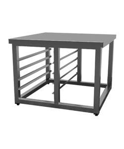 Стол-подставка под печь Smeg 500*715*780: купить в Москве по цене 12 800 руб | Интернет-магазин «Мебель Металлическая»