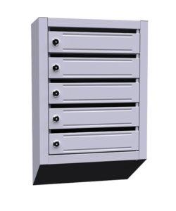 Почтовый ящик металлический ЯПР-5: купить в Москве по цене 2 100 руб | Интернет-магазин «Мебель Металлическая»