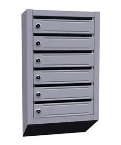 Почтовый ящик щелевой ЯПР-6: купить в Москве по цене 2 400 руб | Интернет-магазин «Мебель Металлическая»