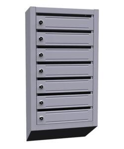 Почтовый ящик ЯПР-7: купить в Москве по цене 2 700 руб | Интернет-магазин «Мебель Металлическая»