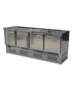 Стол холодильный барный (нижний агрегат): купить в Москве по цене 90 100 руб | Интернет-магазин «Мебель Металлическая»