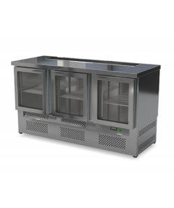 Стол холодильный барный со стеклянной дверью (нижний агрегат): купить в Москве по цене 98 300 руб | Интернет-магазин «Мебель Металлическая»