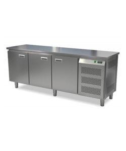 Стол холодильный кондитерский 3 двери (боковой агрегат): купить в Москве по цене 122 700 руб   Интернет-магазин «Мебель Металлическая»
