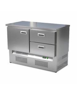 Стол холодильный кондитерский 1 дверь 2 ящика (нижний агрегат): купить в Москве по цене 108 500 руб   Интернет-магазин «Мебель Металлическая»