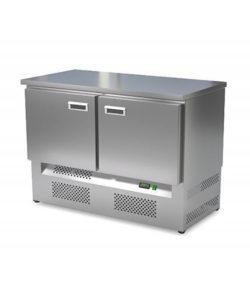 Стол холодильный кондитерский 2 двери (нижний агрегат): купить в Москве по цене 97 100 руб   Интернет-магазин «Мебель Металлическая»