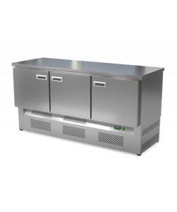 Стол холодильный кондитерский 3 двери (нижний агрегат): купить в Москве по цене 114 300 руб   Интернет-магазин «Мебель Металлическая»