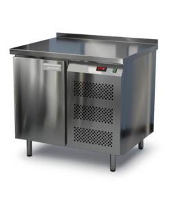 Стол охлаждаемый из нержавейки 900 мм (боковой агрегат): купить в Москве по цене 64 000 руб | Интернет-магазин «Мебель Металлическая»